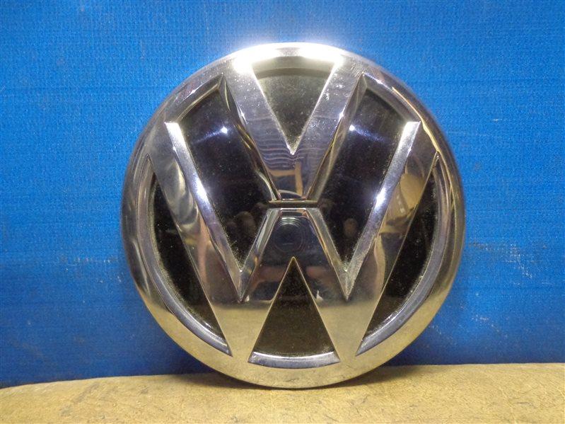 Эмблема Volkswagen Tiguan 5N1 2007 (б/у)
