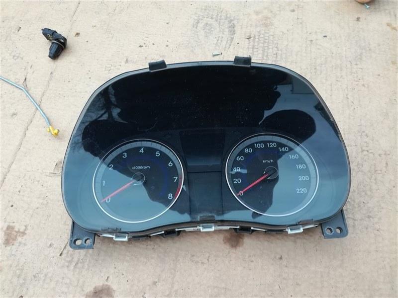 Панель приборов Hyundai Solaris RB 2010 (б/у)