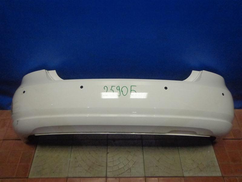 Бампер Volkswagen Polo 612 2010 задний (б/у)
