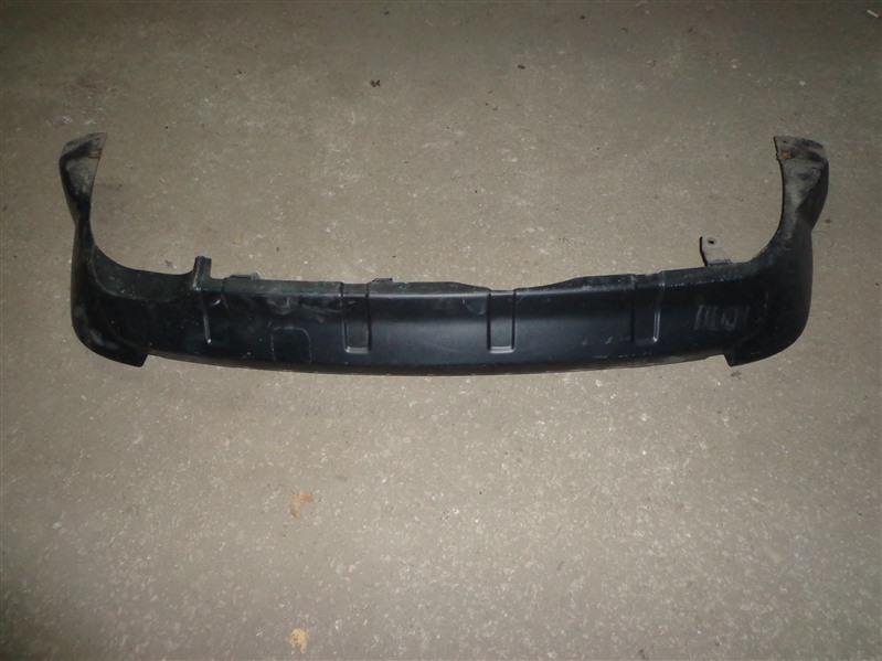 Юбка бампера Mitsubishi Outlander Xl CW 2006 задняя (б/у)