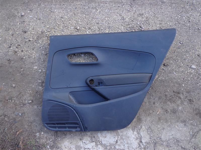 Обшивка двери Volkswagen Polo 612 2010 задняя правая (б/у)