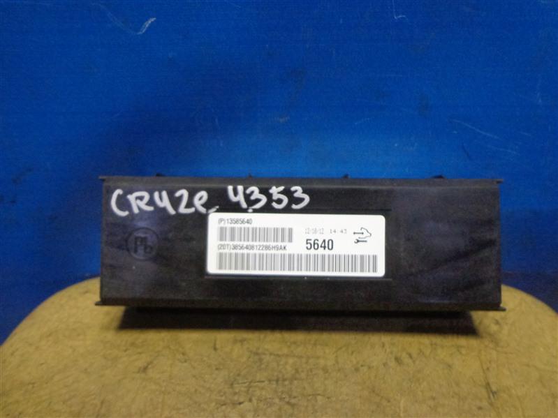 Блок электронный Chevrolet Cruze J305 2009 (б/у)