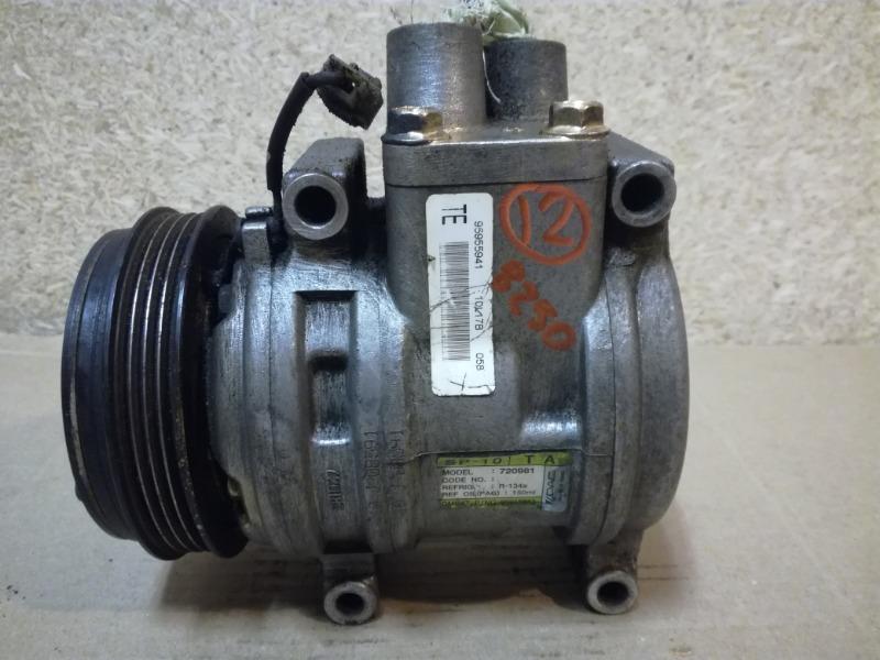 Компрессор кондиционера Chevrolet Aveo T250 2005 (б/у)