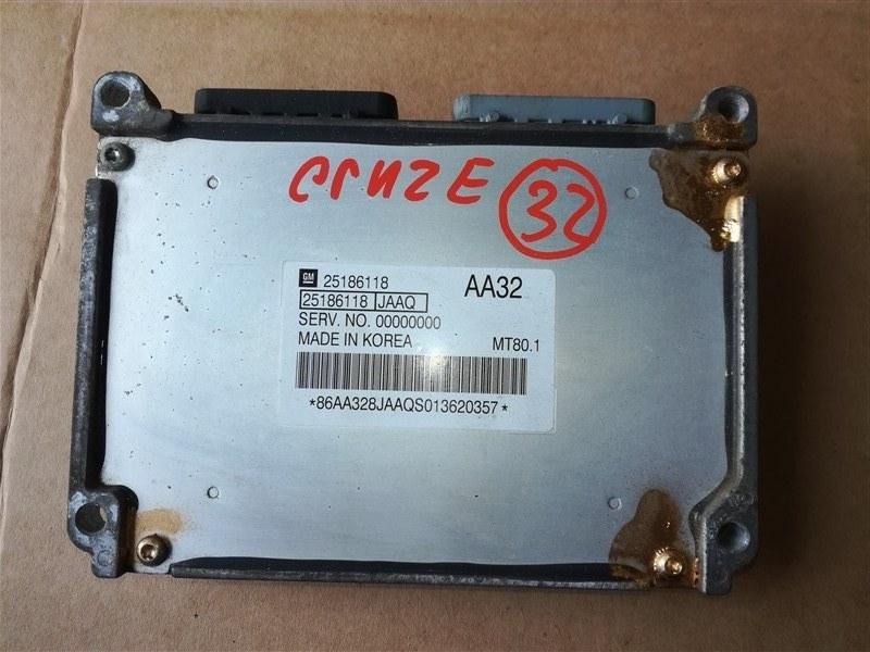 Блок управления двигателем Chevrolet Cruze J300 2009 (б/у)