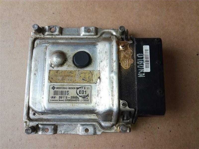 Блок управления двигателем Hyundai Solaris RB 2010 (б/у)