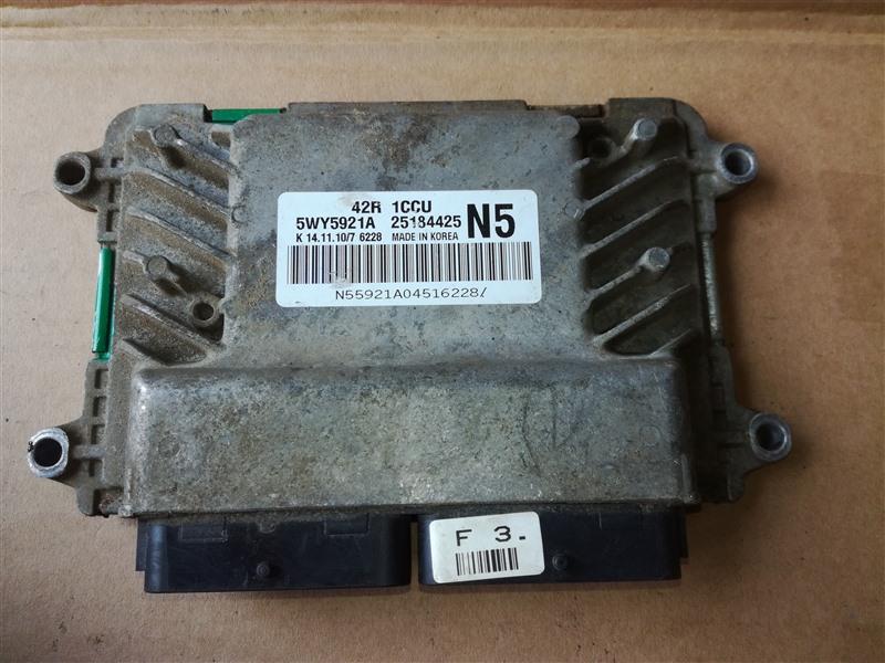 Блок управления двигателем Chevrolet Aveo T250 2005 (б/у)