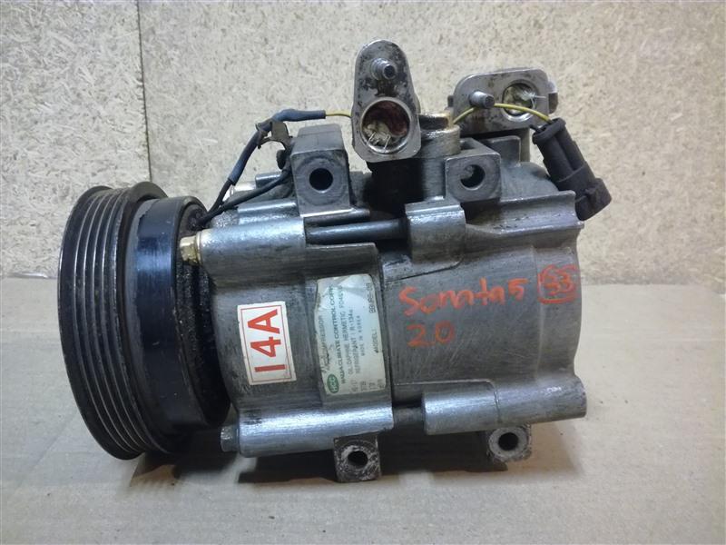 Компрессор кондиционера Hyundai Sonata 4 EF 2001 (б/у)