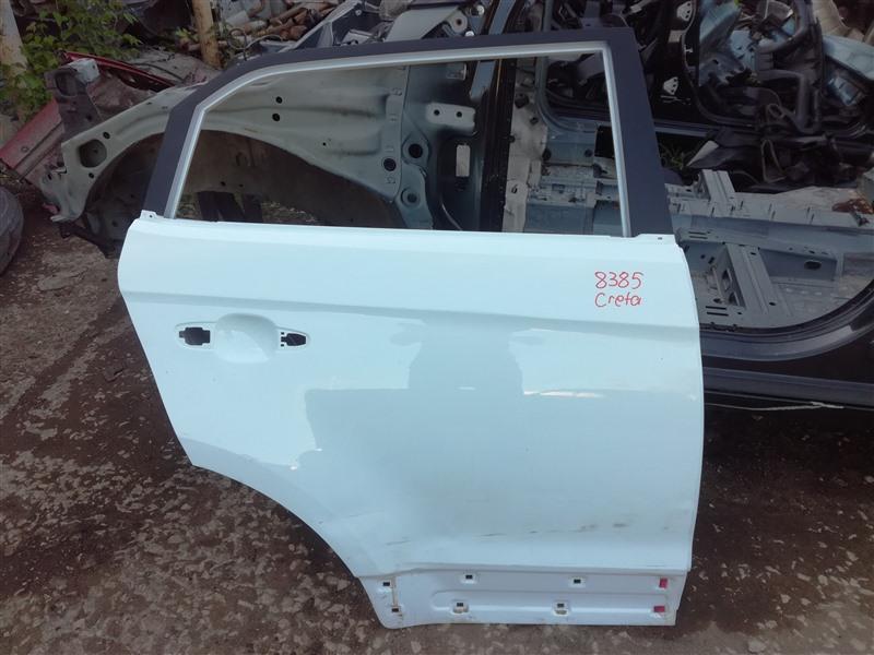 Дверь Hyundai Creta GS 2016 задняя правая (б/у)
