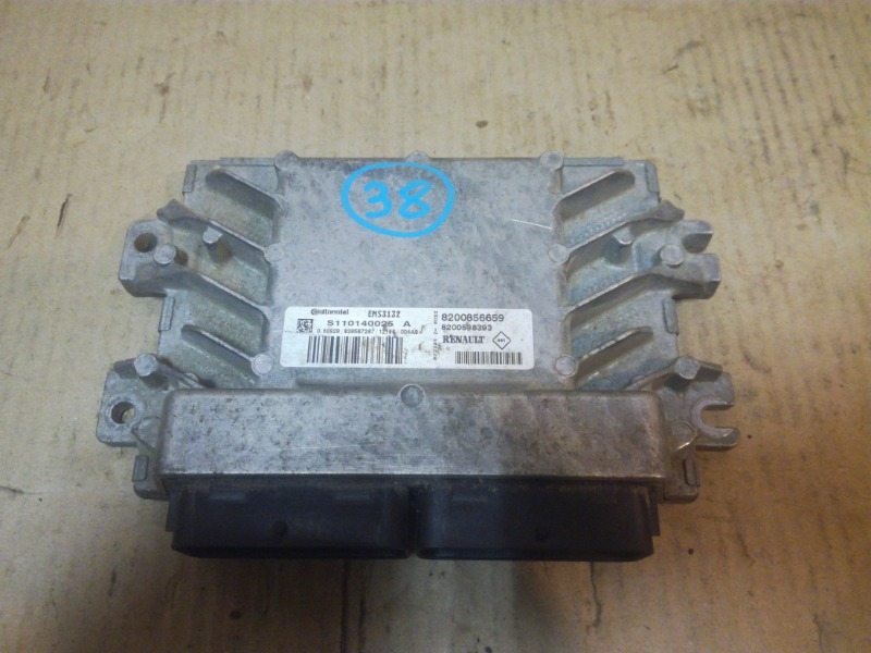 Блок управления двигателем Renault Sandero BS11 2009 (б/у)