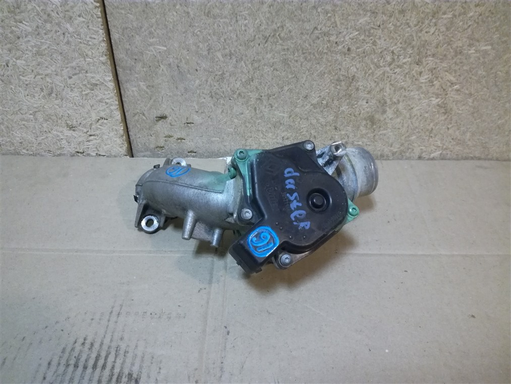 Заслонка дроссельная Renault Duster HSA 2012 (б/у)