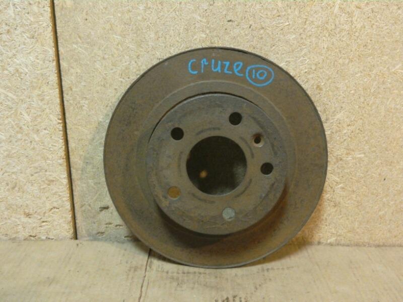 Диск тормозной Chevrolet Cruze J305 2009 задний (б/у)