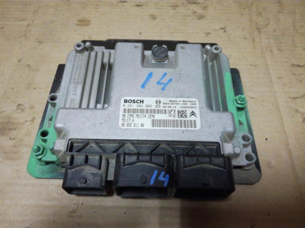 Блок управления двигателем Peugeot 308 4A/C 2007 (б/у)