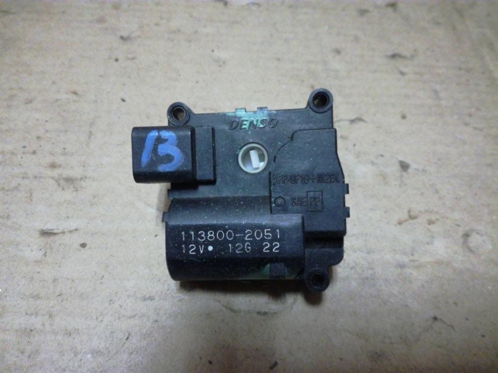 Моторчик заслонки отопителя Toyota Avensis ZZT251L 2003 (б/у)