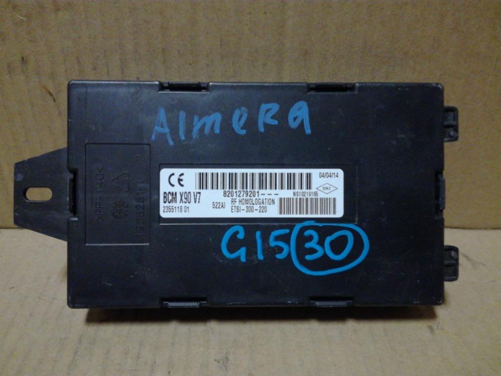 Блок комфорта Nissan Almera G15 2013 (б/у)