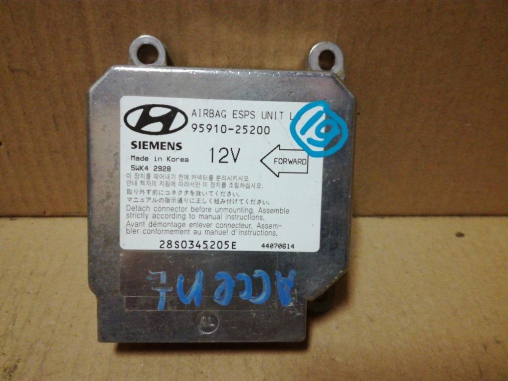 Блок управления air bag Hyundai Accent LC 2000 (б/у)