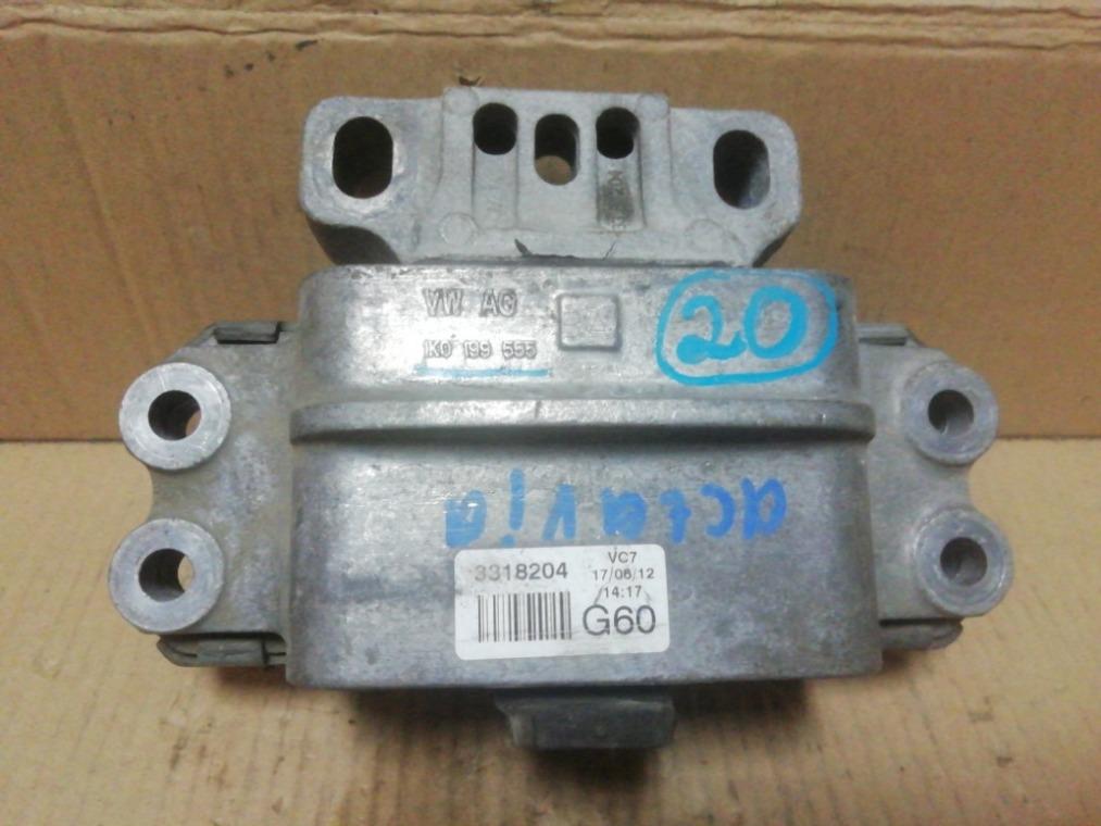Опора двигателя Skoda Octavia A5 1Z5 2004 левая (б/у)