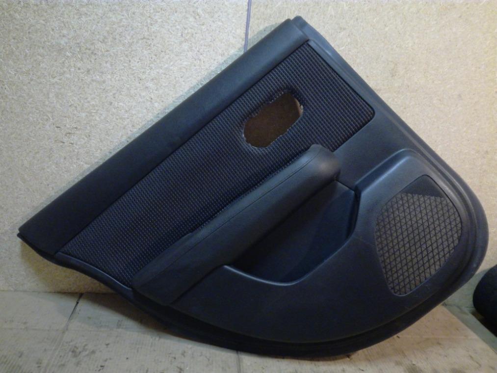 Обшивка двери Nissan Tiida C11 2007 задняя левая (б/у)