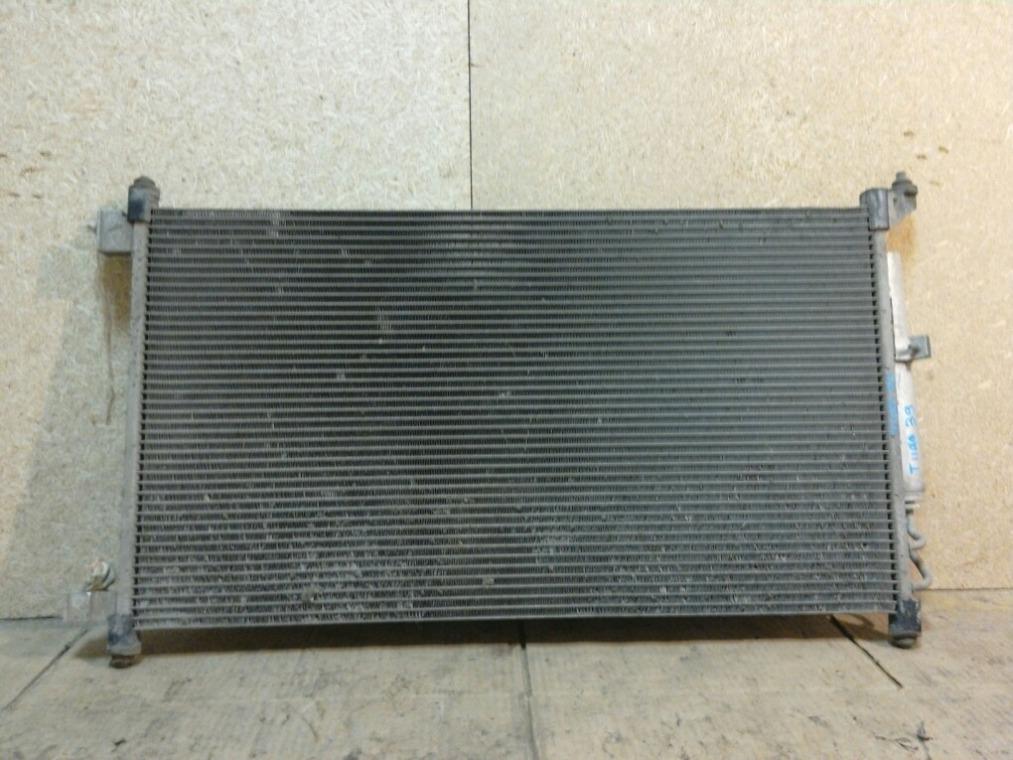 Радиатор кондиционера Nissan Tiida C11 2007 (б/у)