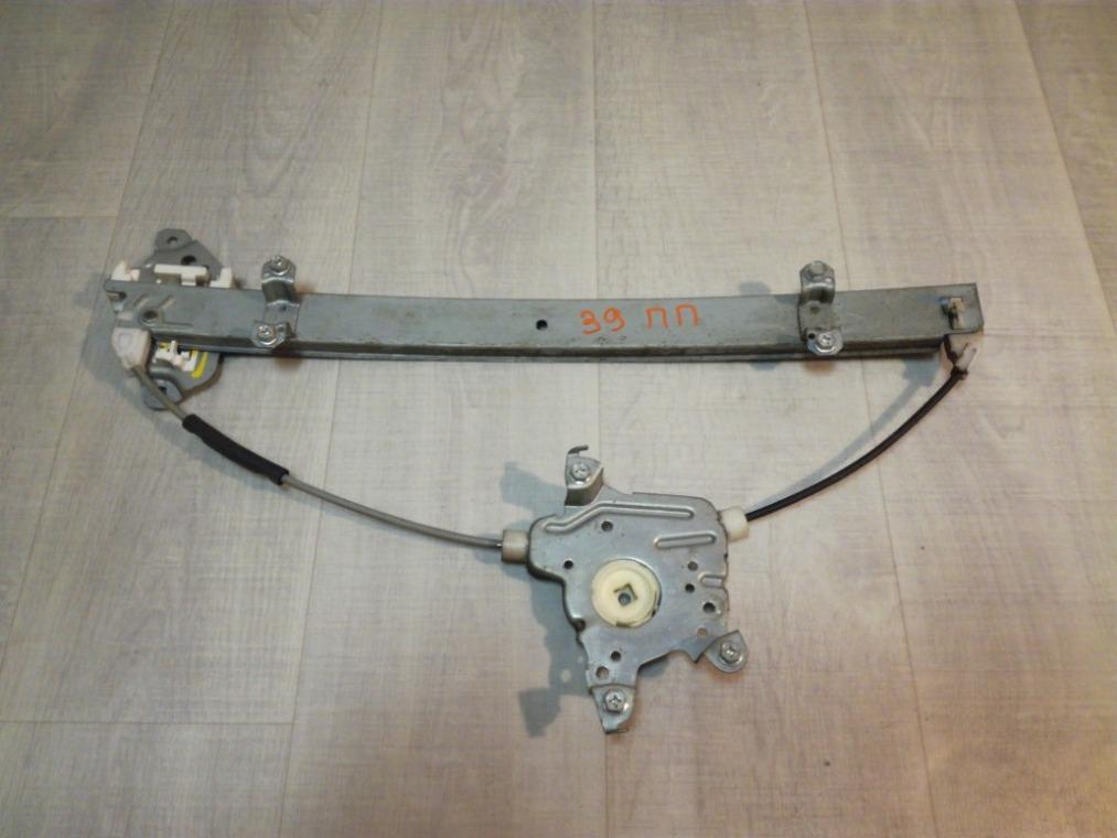 Стеклоподъемник Nissan Tiida C11 2007 передний правый (б/у)