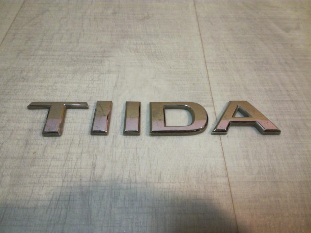 Эмблема Nissan Tiida C11 2007 (б/у)