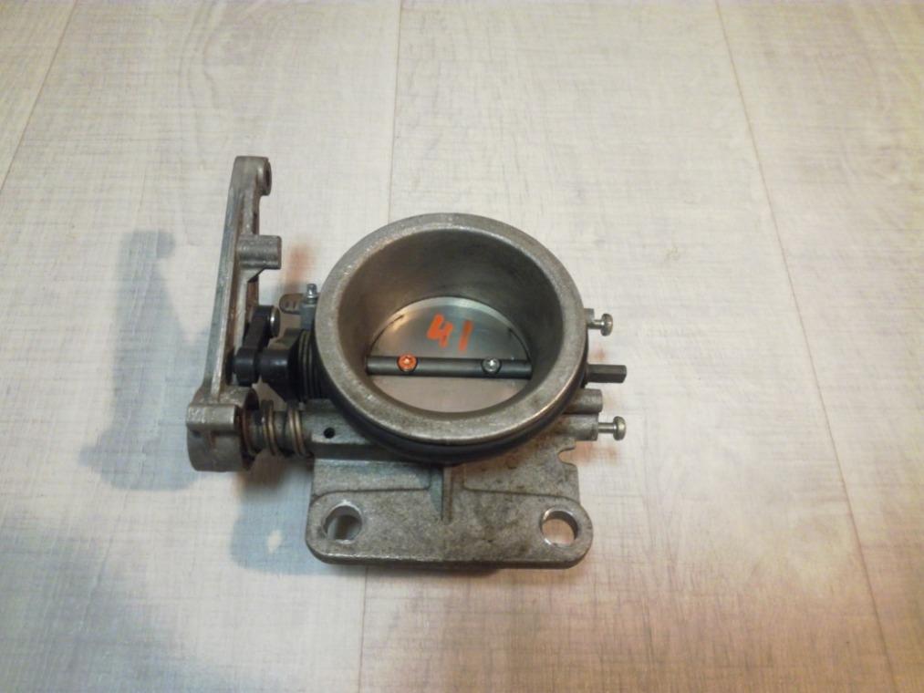 Заслонка дроссельная Renault Sandero BS11 2009 (б/у)