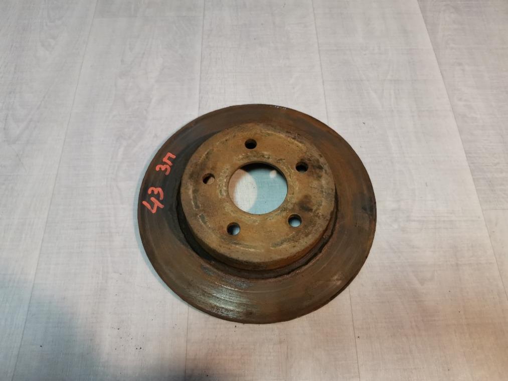 Диск тормозной Ford Focus 3 CB8 2011 задний (б/у)