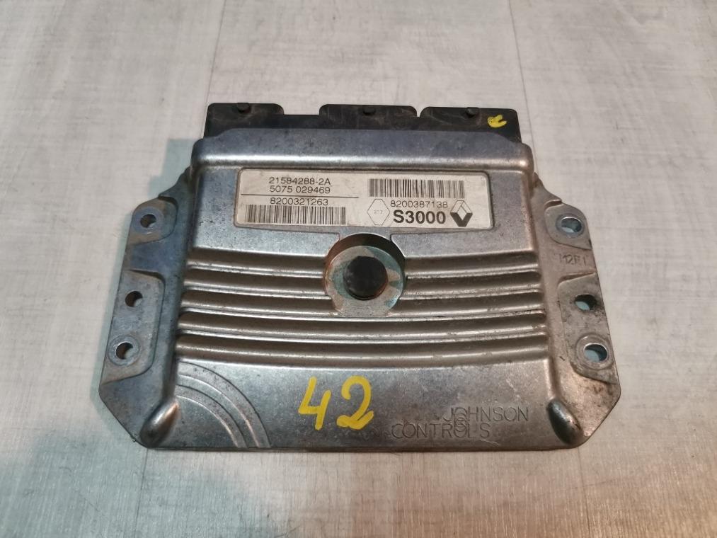 Блок управления двигателем Renault Megane 2 LM2Y 2003 (б/у)