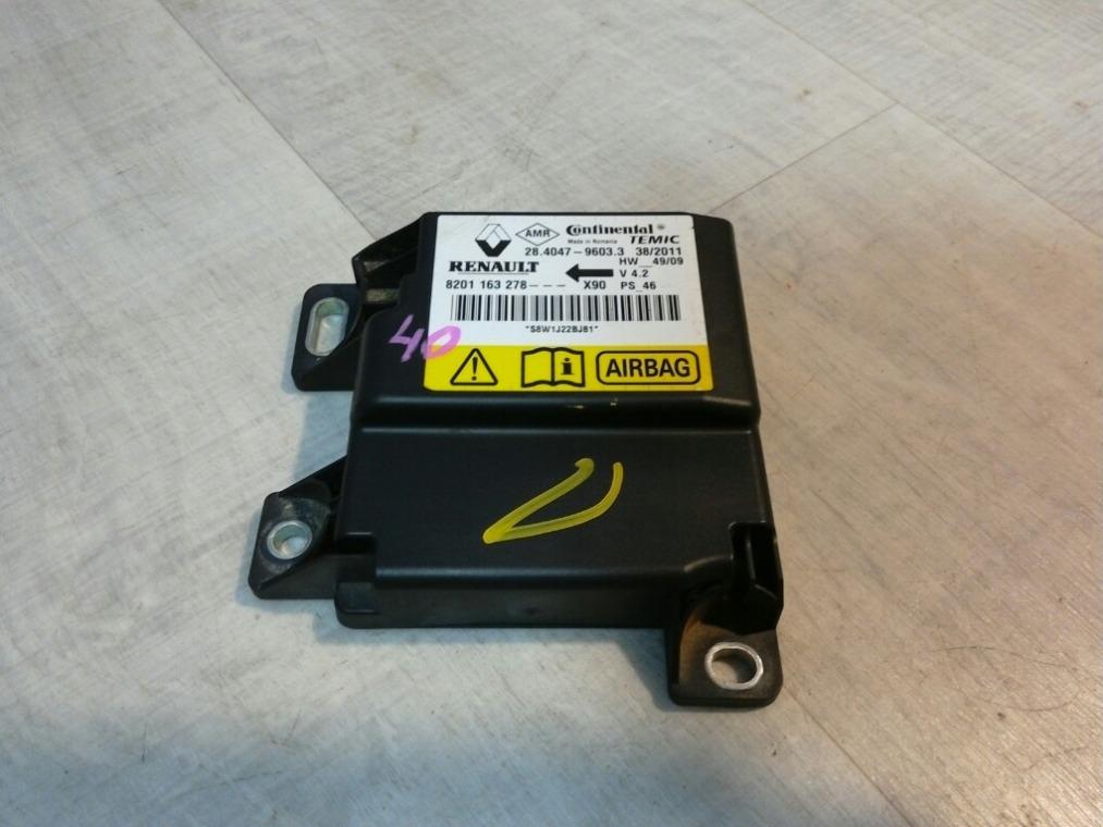 Блок управления air bag Renault Sandero BS11 2009 (б/у)