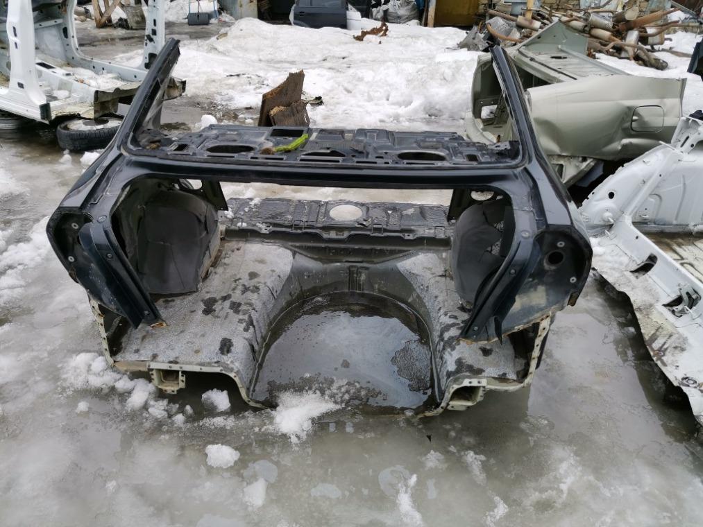 Задняя часть кузова Chevrolet Aveo T250 2005 (б/у)