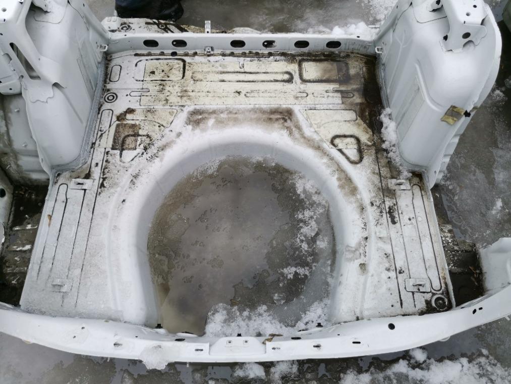 Ниша запасного колеса Skoda Octavia A5 1Z5 2004 (б/у)