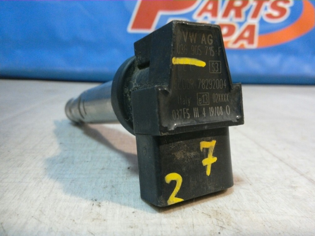 Катушка зажигания Skoda Fabia 5J2 2007 (б/у)
