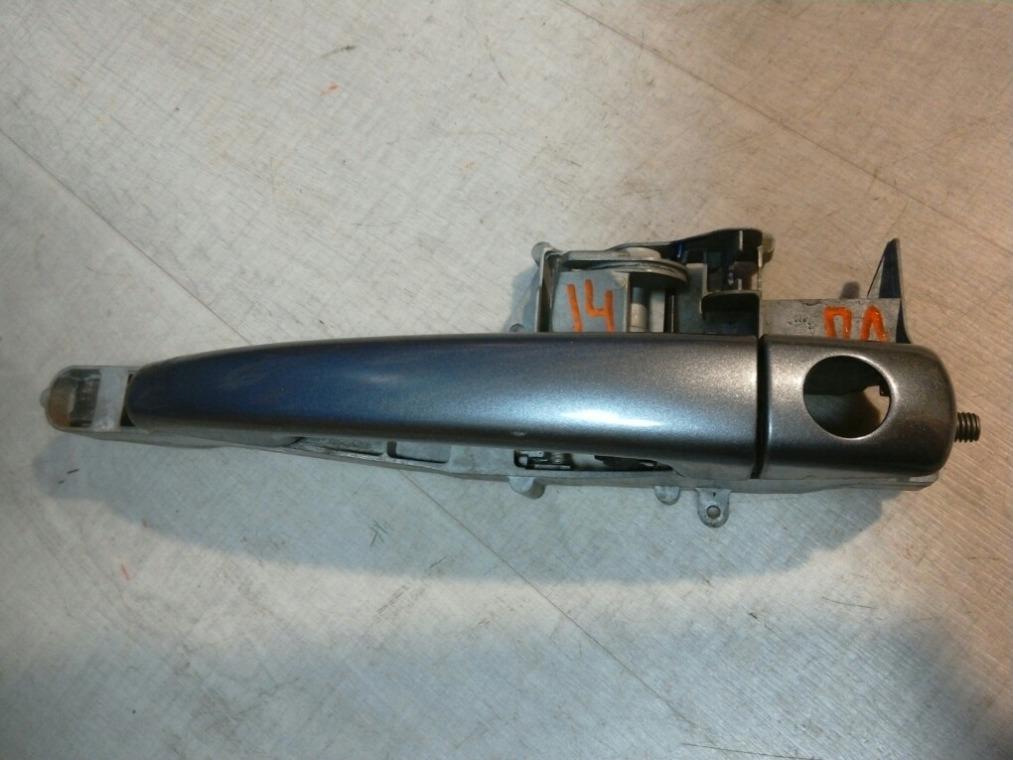 Ручка двери наружная Peugeot 308 4A/C 2007 передняя левая (б/у)