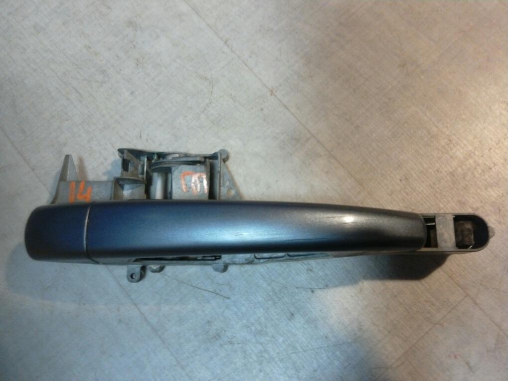Ручка двери наружная Peugeot 308 4A/C 2007 правая (б/у)