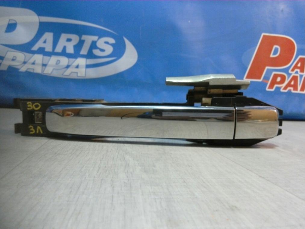 Ручка двери наружная Nissan Almera G15 2013 задняя левая (б/у)