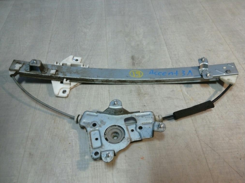 Стеклоподъемник Hyundai Accent LC 2000 задний левый (б/у)
