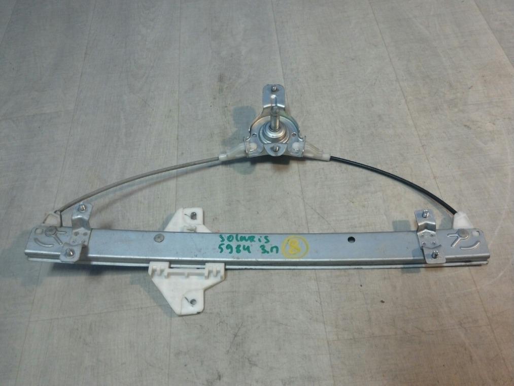 Стеклоподъемник Hyundai Solaris RB 2010 задний правый (б/у)