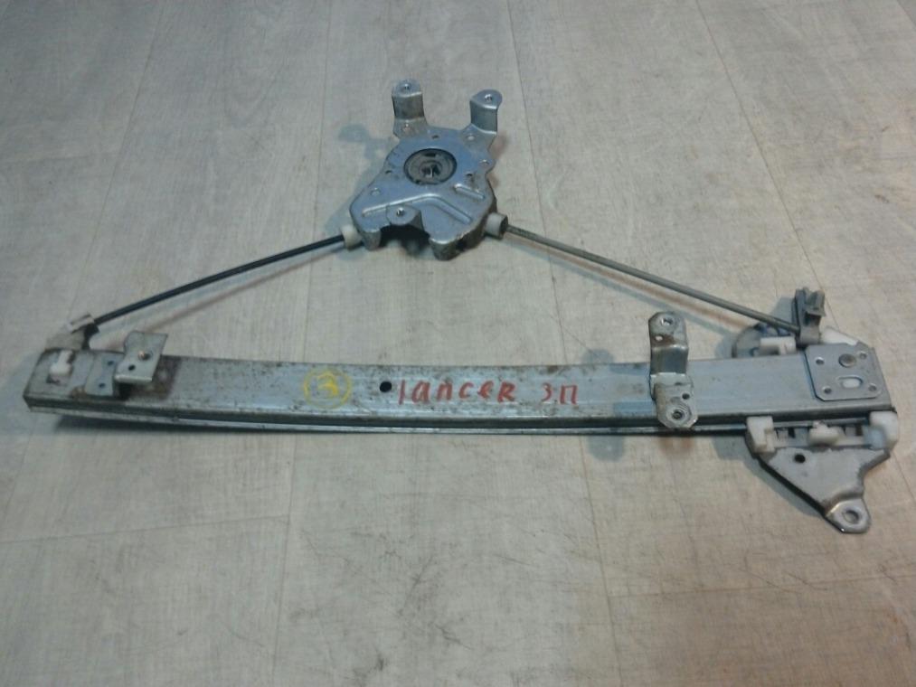 Стеклоподъемник Mitsubishi Lancer 9 CS3A 2003 задний правый (б/у)