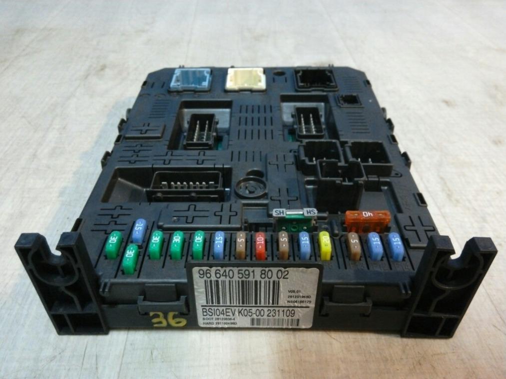 Блок предохранителей Peugeot 308 4A/C 2007 (б/у)