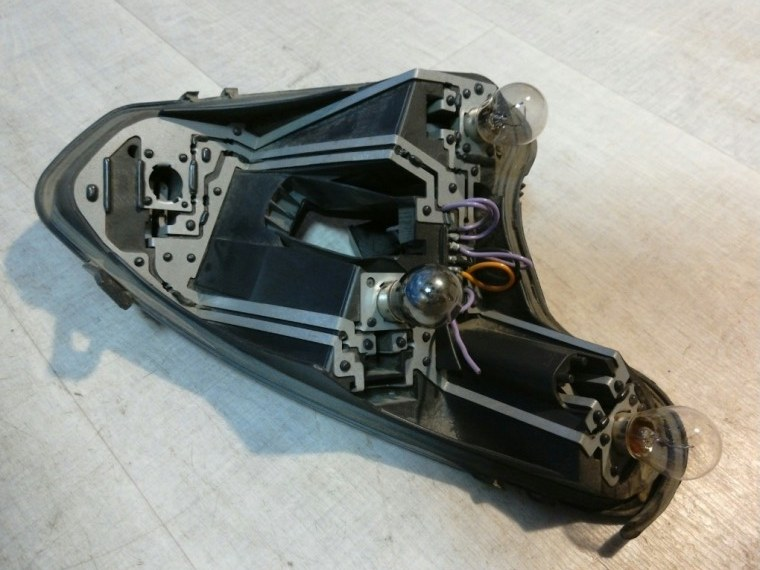 Плата заднего фонаря Peugeot 308 4A/C 2007 правая (б/у)