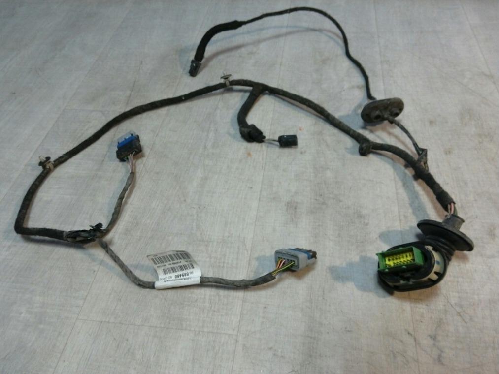 Проводка двери Peugeot 308 4A/C 2007 задняя (б/у)