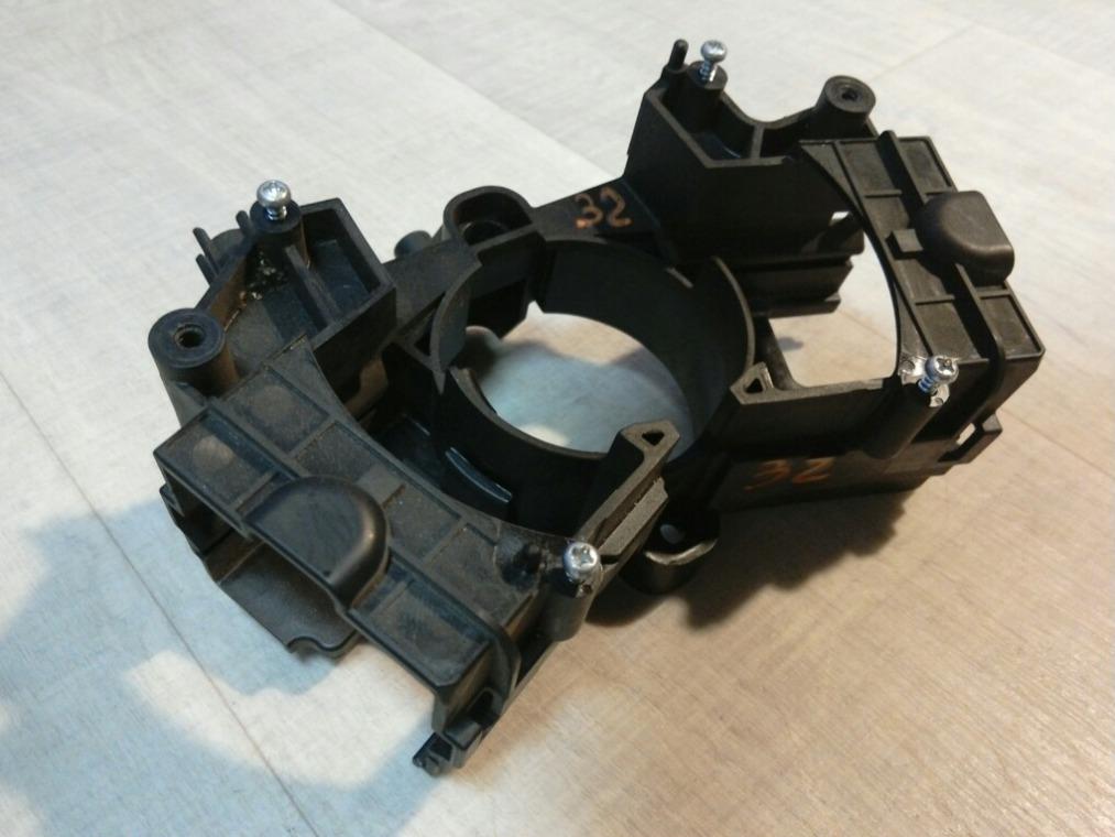 Кронштейн подрулевых переключателей Chevrolet Cruze J300 2009 (б/у)