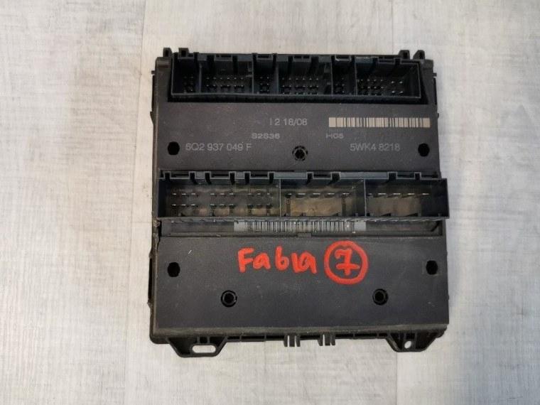 Блок комфорта Skoda Fabia 5J2 2007 (б/у)