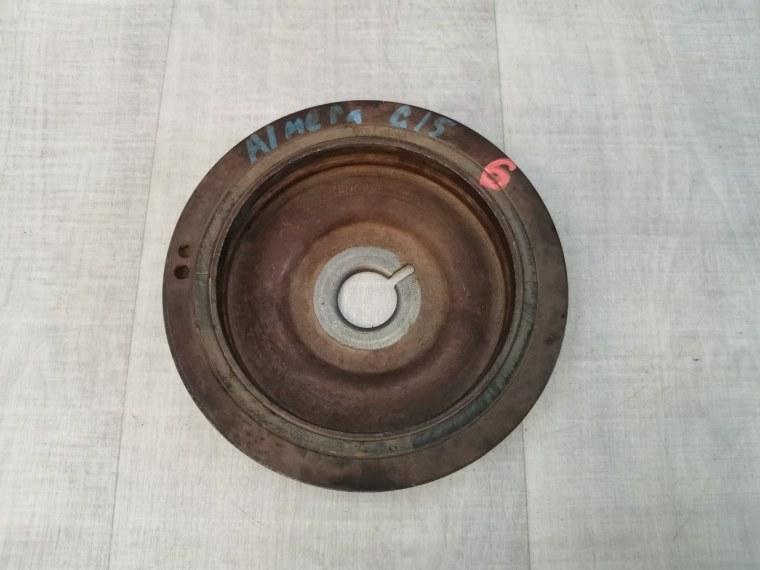 Шкив коленвала Nissan Almera G15 2013 (б/у)