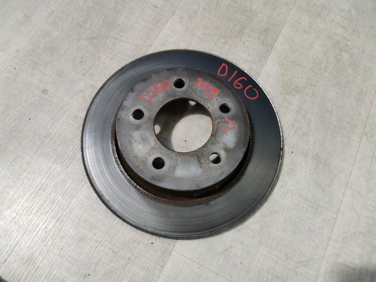 Диск тормозной Mazda 3 BK 2006 задний (б/у)