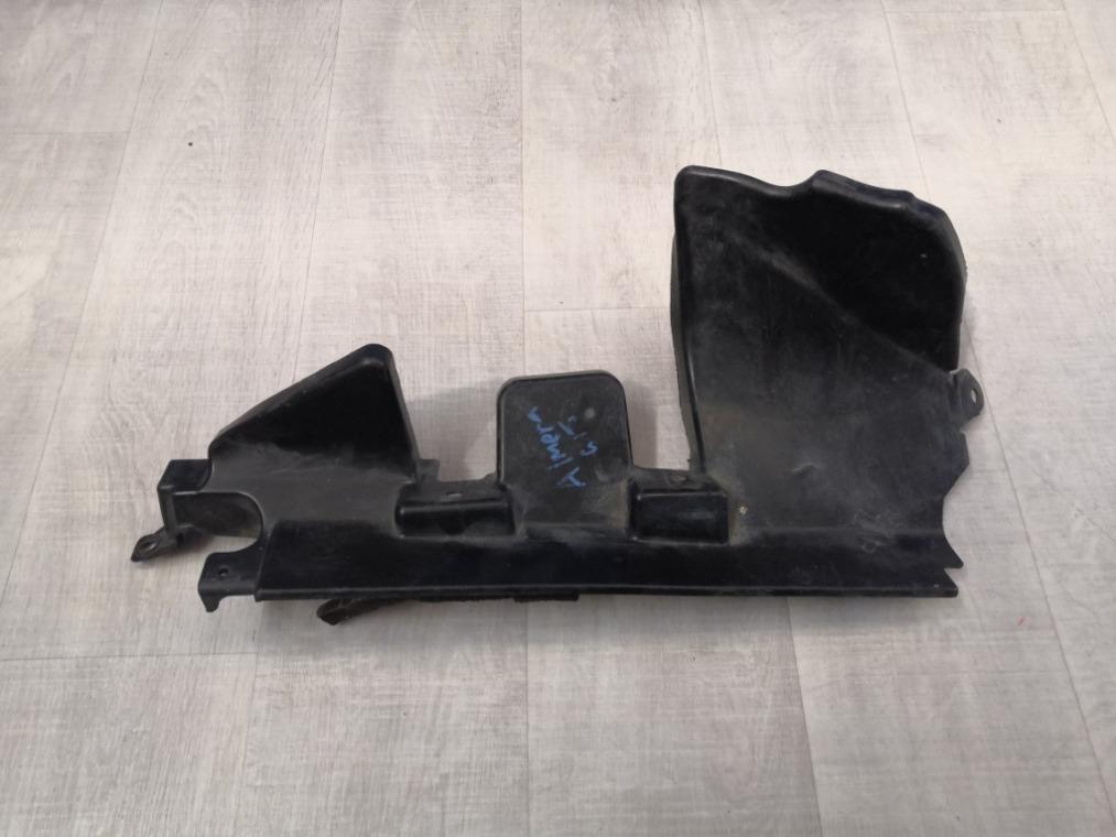Дефлектор радиатора Nissan Almera G15 2013 (б/у)