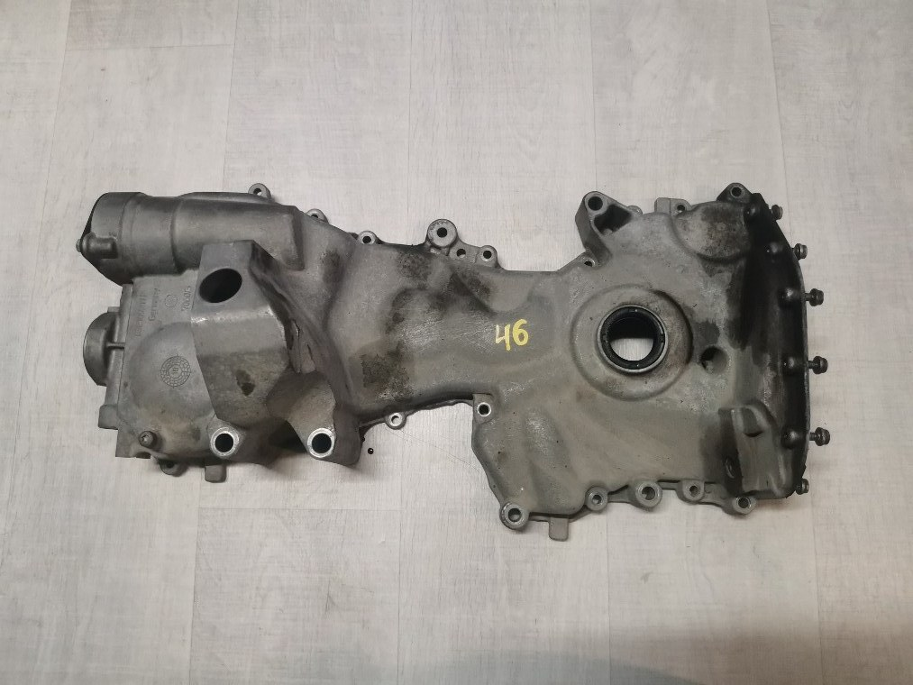 Крышка двигателя передняя Skoda Fabia 5J2 2012 (б/у)