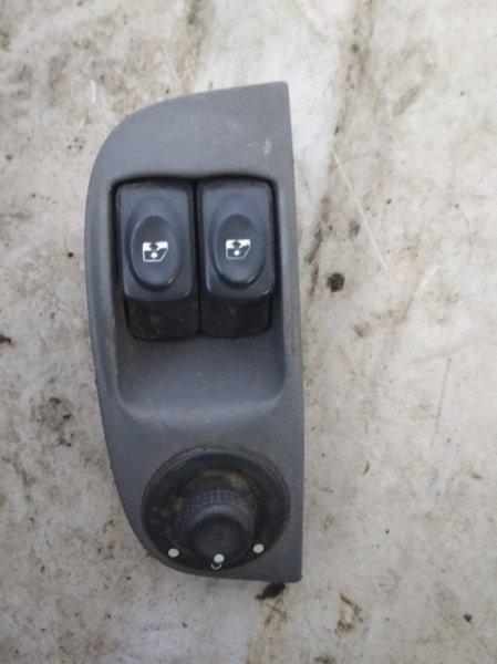 Блок управления стеклами Renault Megane 1 LA K4M 1999 передний левый (б/у)