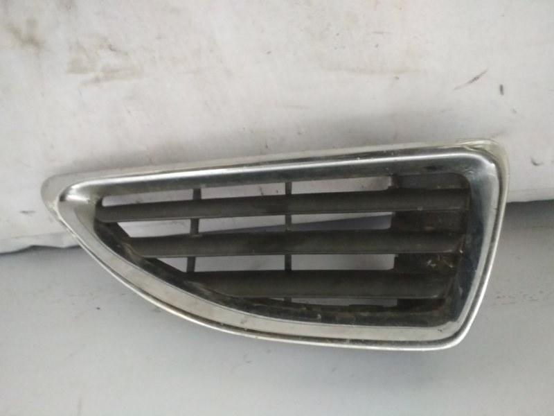 Решетка радиатора Renault Megane 1 LA K4M 1999 передняя правая (б/у)