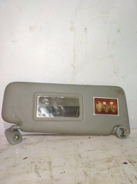 Козырек солнцезащитный Renault Symbol 1 LB K7J 2003 передний правый (б/у)