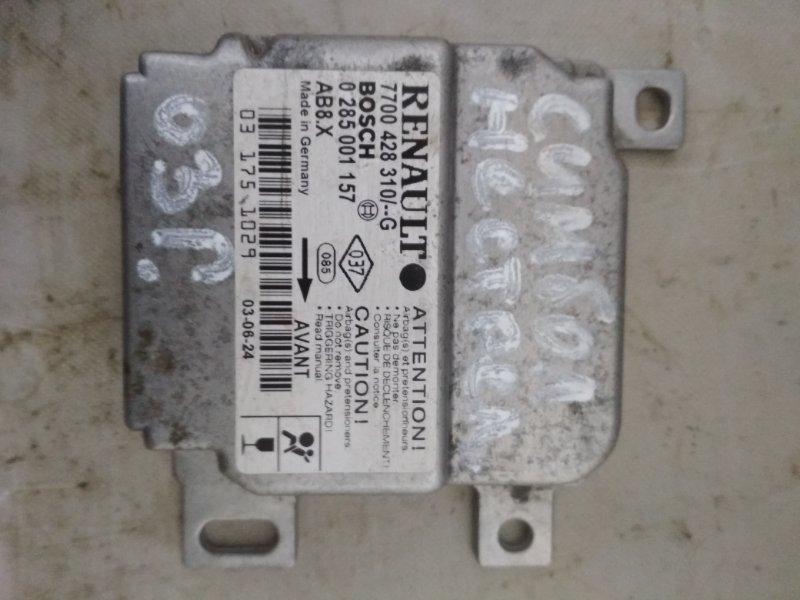 Блок управления srs (безопасности) Renault Symbol 1 LB K7J 2003 (б/у)